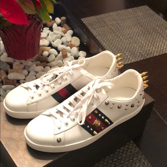 7a78a68fe Gucci Shoes | Ace Punk Sneakers | Poshmark